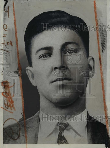 1933 Press Photo Portrait of Jack Klules - nee92107 - Historic Images