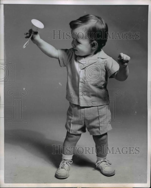 1954 Press Photo Handi Panti by Alexis are Fashioned of practical Orlan-Nylon - Historic Images
