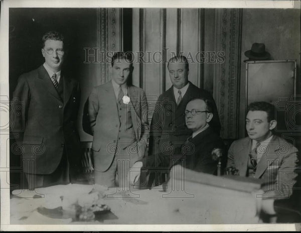 1928 Press Photo Radio Operators At The Meeting - nee96843 - Historic Images