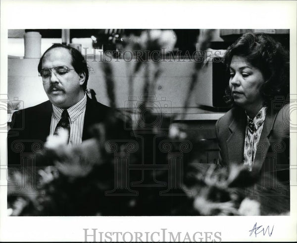 1992 Press Photo LifeFleet Gen Mgr Mike Lopez & Dir of Operation Sue Tolliver - Historic Images