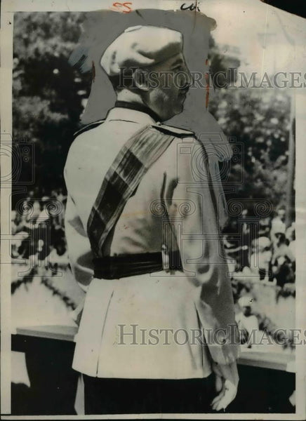 1940 Press Photo General Francisco Franco of Spain - nef02049 - Historic Images