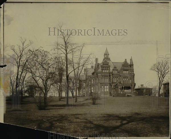 1910 Press Photo Horace Andrews home- East Boat & Euclid. - Historic Images
