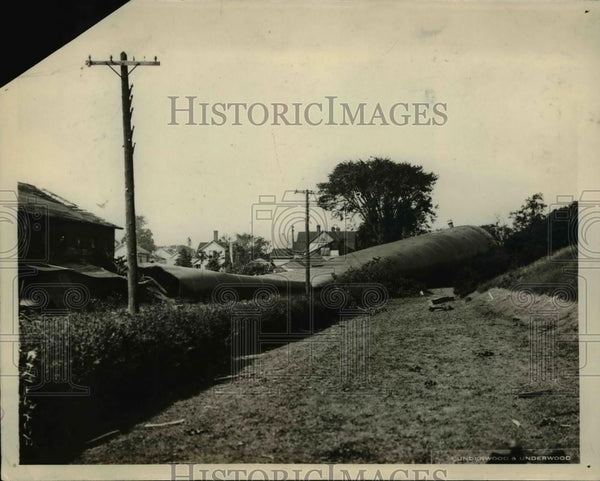 1924 Press Photo Lorain Ohio-tornado wreckage - cvb64226 - Historic Images