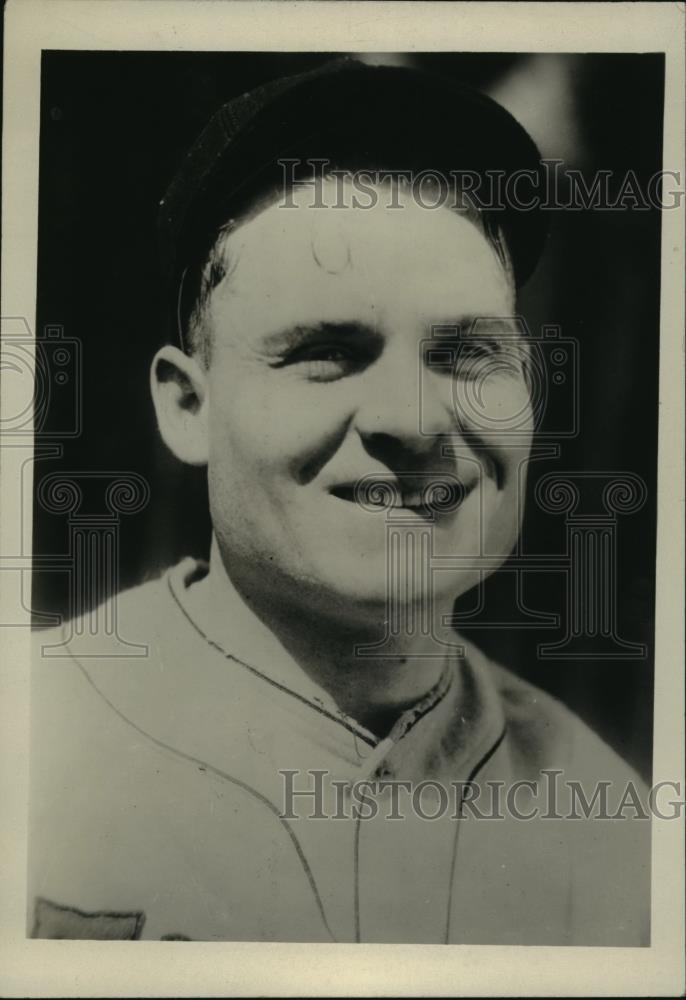1929 Press Photo Francis Sigafoos, Infielder for Detroit Tigers - cvb75252 - Historic Images