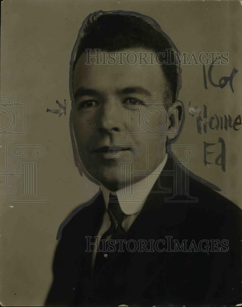 1918 Press Photo Joseph D.O'Donnell, Youngstown Attorney - nef04914 - Historic Images