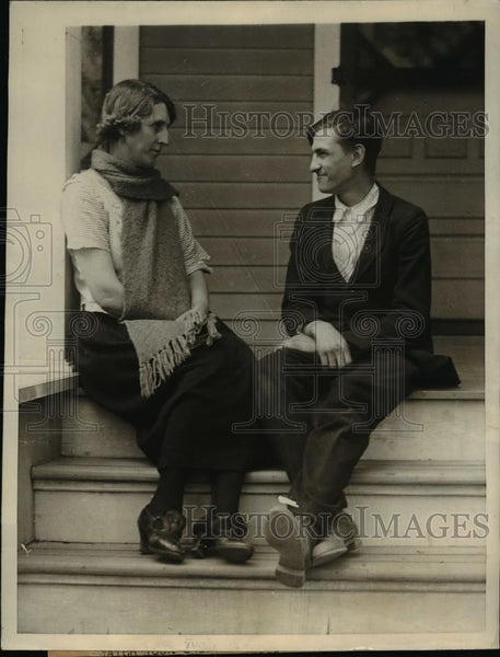 1923 Press Photo George Titus was kidnaped from the home of Mrs.William Rademan - Historic Images