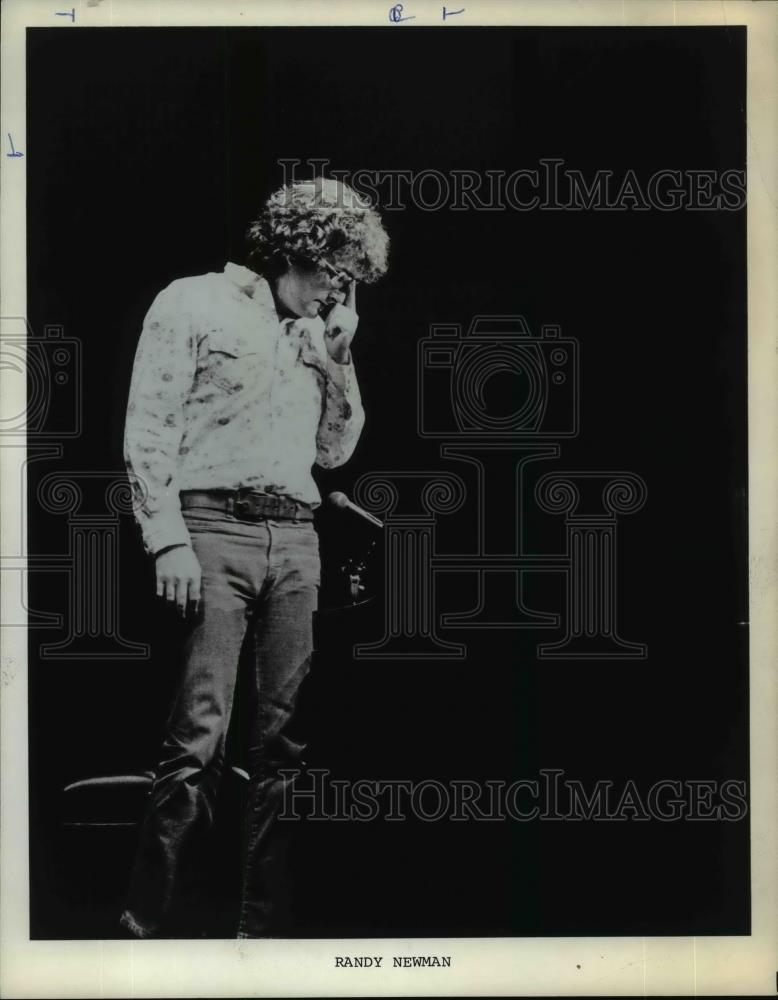 #phs.006162 Photo RANDY NEWMAN 1979 Star