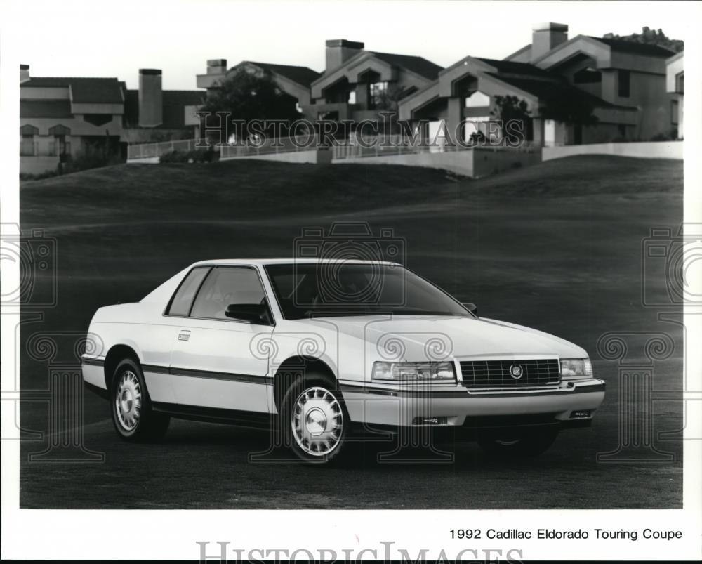 1992 press photo the 1992 cadillac eldorado touring coupe spp01605 historic images 1992 press photo the 1992 cadillac eldorado touring coupe spp01605