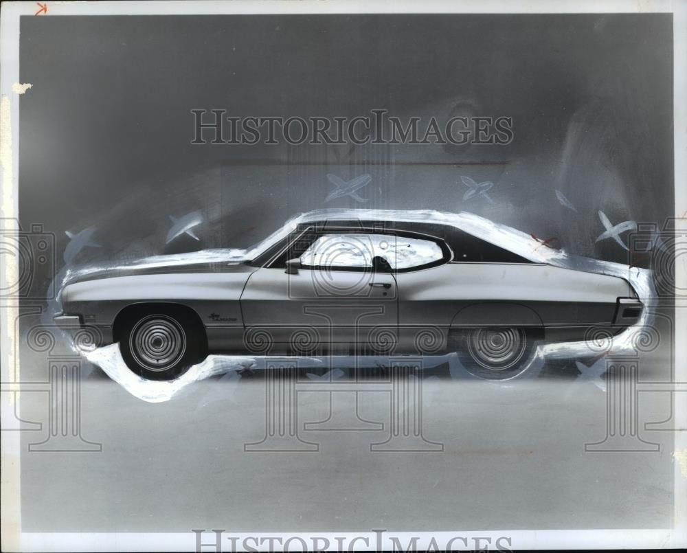 1971 Press Photo Automobiles 1972 Pontiac Luxury Lemans Cvb72336 Wiring Historic Images
