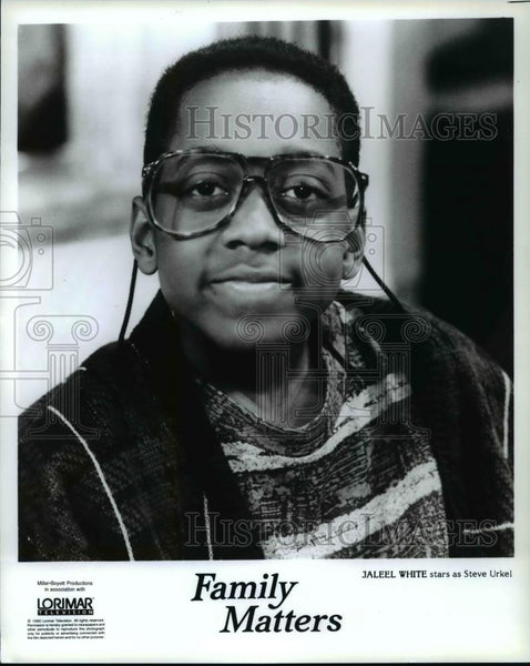 1992 Press Photo Jaleel White stars as Steve Urkel - cvp98662 - Historic Images