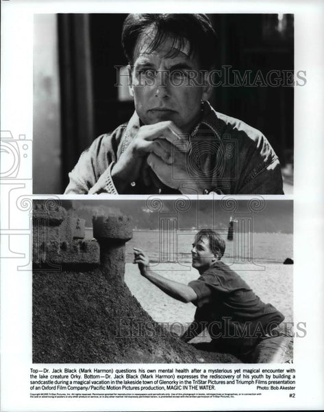 Press Photo Mark Harmon in Magic in the Water - cvp98760 - Historic Images