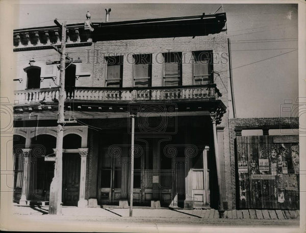 Press Photo Ghost Town-Virginia City Nevada - cvp99989 - Historic Images