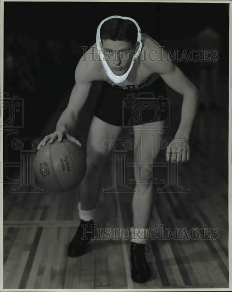 1939 Press Photo Purdue University junior guard Fred Beretta from Bedford - Historic Images