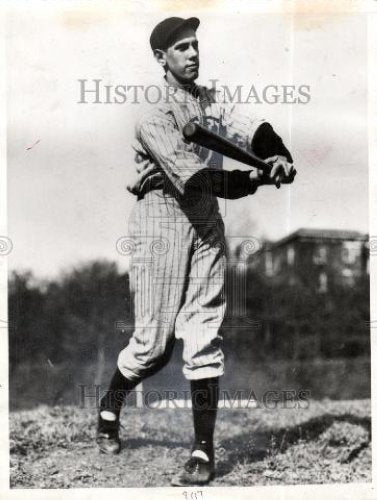 1937 Press Photo william terry baseballer american - Historic Images