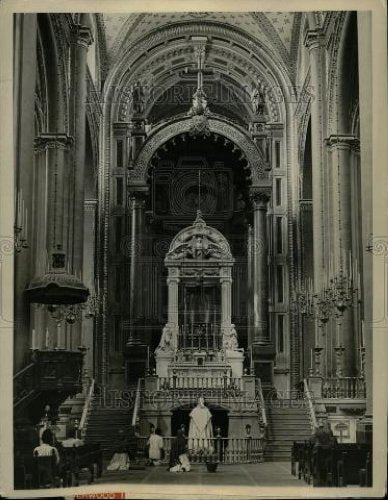 1928 Press Photo GAUDALUPE CATHEDRAL - Historic Images