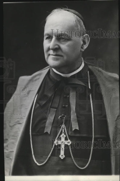 1939 Press Photo Cardinal Boetto eligible to succeed Pope Pius XI - spx07587 - Historic Images