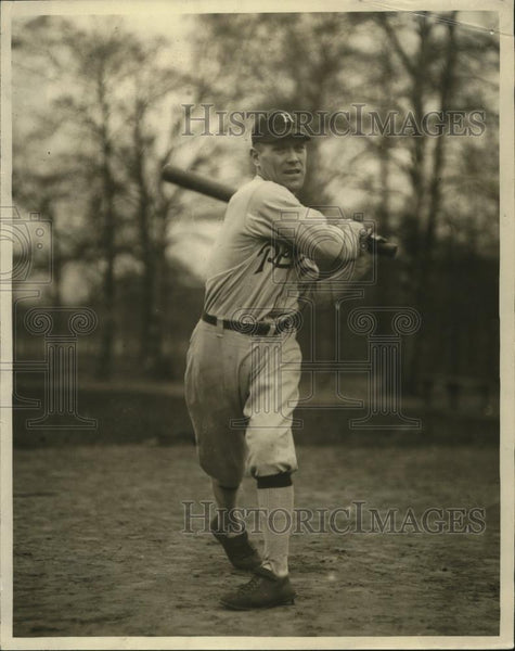 1923 Press Photo Baseball player Bunny McDermott - cvb77401 - Historic Images