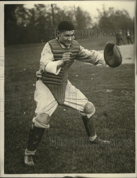 1925 Press Photo Hermie Martin- Catcher  - cvb77413 - Historic Images