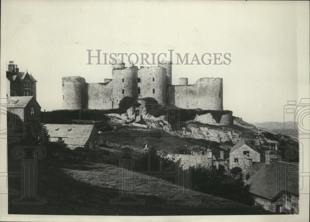 1929 Press Photo Harlech Castle Wales - spx07793 - Historic Images