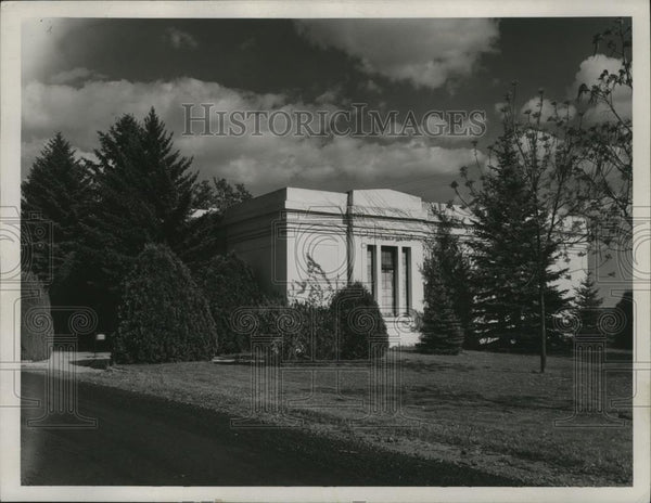 1947 Press Photo Fairmount Memorial Park - Historic Images