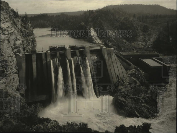 Press Photo Washington Water Power Co. - Historic Images
