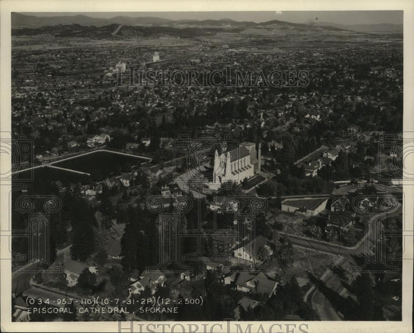 1936 Press Photo Cathedral of St John the Evangelist - Historic Images