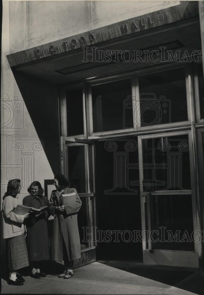 1949 Press Photo Washington State Building Todd Hall - spx09657 - Historic Images