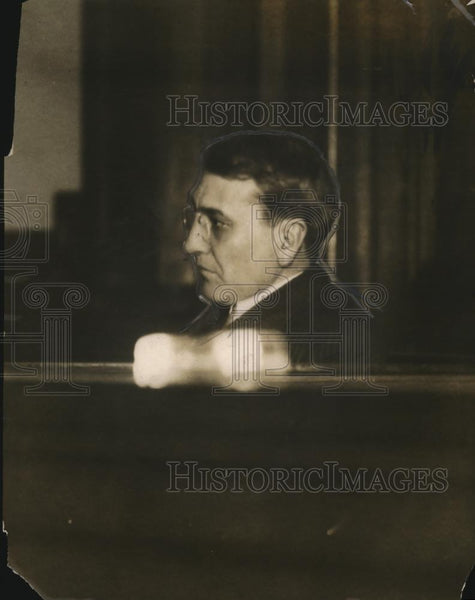 1912 Press Photo Clarence S Funk in a court room - net22484 - Historic Images