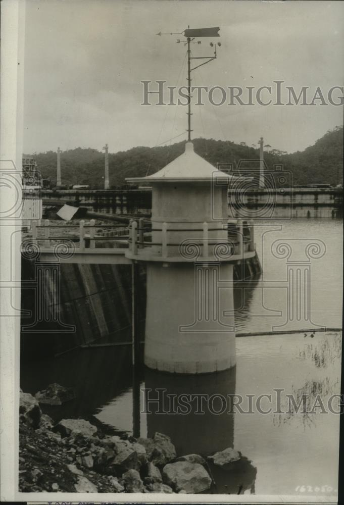 1913 Press Photo One of the Stations along Canal Zone - spx09744 - Historic Images