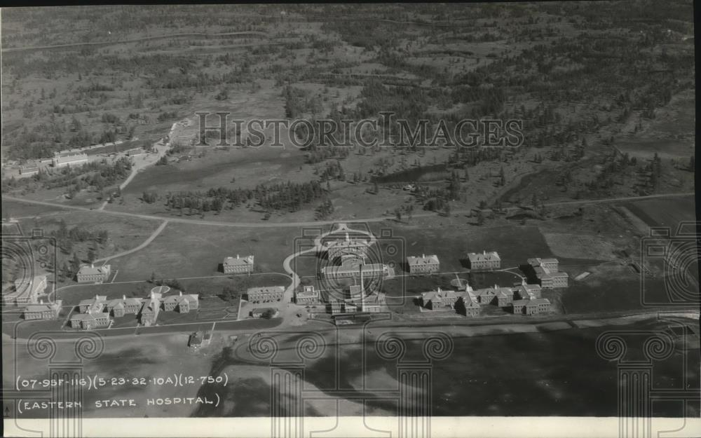 1933 Press Photo Aerial view of the Eastern State Hospital - spx09880 - Historic Images