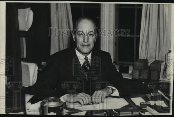 1937 Press Photo Election of Charles Seymour as President of Yale University - Historic Images