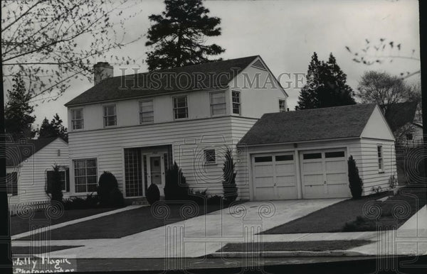 1948 Press Photo House - spx10285 - Historic Images