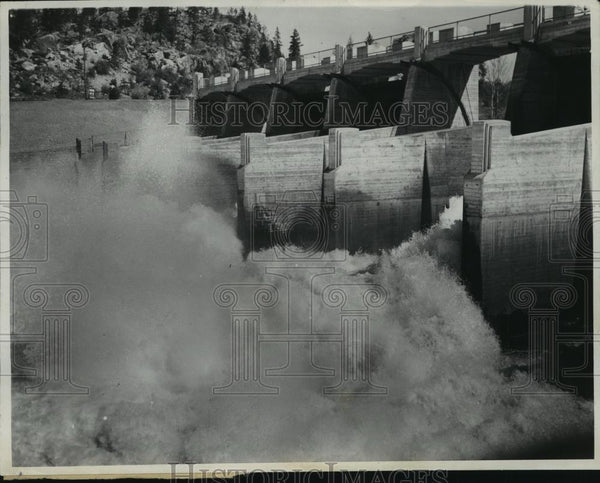 1937 Press Photo Upriver dam, Spokane - spx10358 - Historic Images