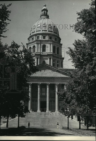 1936 Press Photo Kansas State Capitol - spx10493 - Historic Images