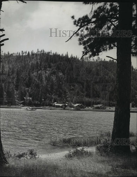 Press Photo View of Anderson Resort at Deer Lake - spx10516 - Historic Images