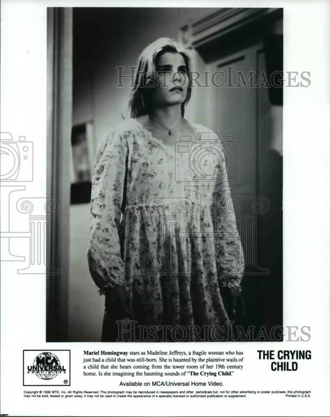 Press Photo Mariel Hemingway stars in The Crying Child - cvp60553 - Historic Images