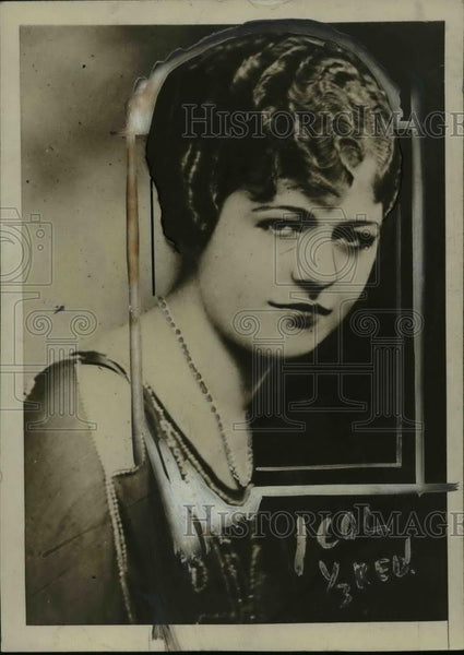 1920 Press Photo Lillian Wruck - nef41224 - Historic Images