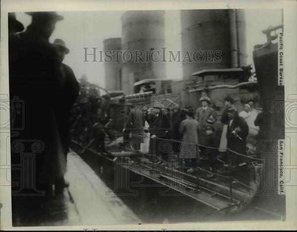 1930 Press Photo Japanese Refugees from Upper Yangtze in China - nef45000 - Historic Images