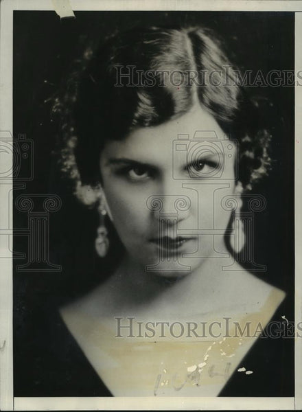 "1931 Press Photo Aliki Diplapakou, Chosen ""Miss Europe"" - nef55395 - Historic Images"