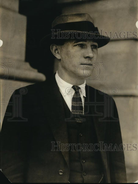 1922 Press Photo Capt.Edwin L. Earle officer of a British Engineer Corps - Historic Images