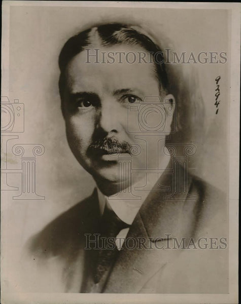 1920 Press Photo William Anderson NY State Superintendent of Anti Slavery League - Historic Images