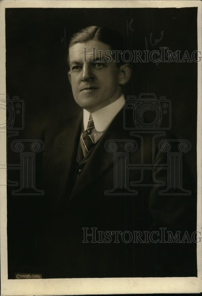 1920 Press Photo Hampson Gary maybe new US Ambassador to Sweden - neo00811 - Historic Images