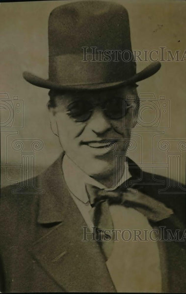 1920 Press Photo Fred Lundin of Chicago Illinois - nep03538 - Historic Images