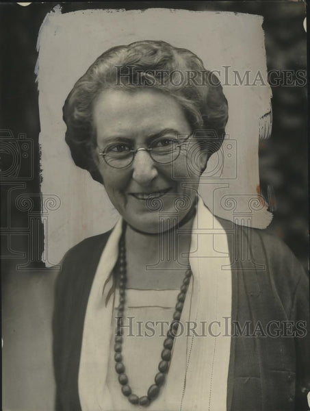 1922 Press Photo Mrs. John Dickinson Sherman of General Federation Womens Clubs - Historic Images
