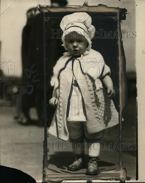 1925 Press Photo Baby Mary Louise Norton - neo01071 - Historic Images