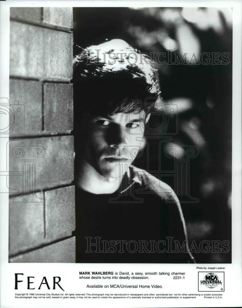 Press Photo Mark Wahlberg stars in Fear - cvb14797 - Historic Images