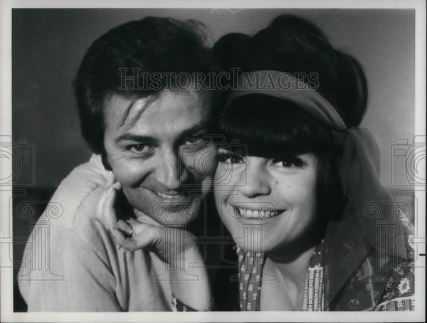 Press Photo Des O' Conner and Jo Anne Worley in The Des O'Conner Show - Historic Images