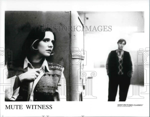 "Press Photo Marina Sudina and Sergei Karlenkov in ""Mute Witness"" - cvp30951 - Historic Images"