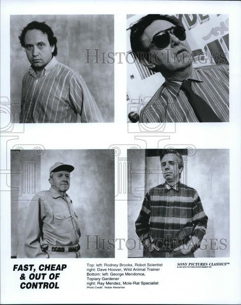 Press Photo Rodney Brooks, Dave Hoover, George Mendonca, Ray Mendez in - Historic Images