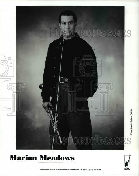Press Photo Marion Meadows - cvp45605 - Historic Images